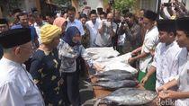 Menteri Susi Sumbang 5 Ton Ikan Tuna dan Sentra Kuliner untuk Santri