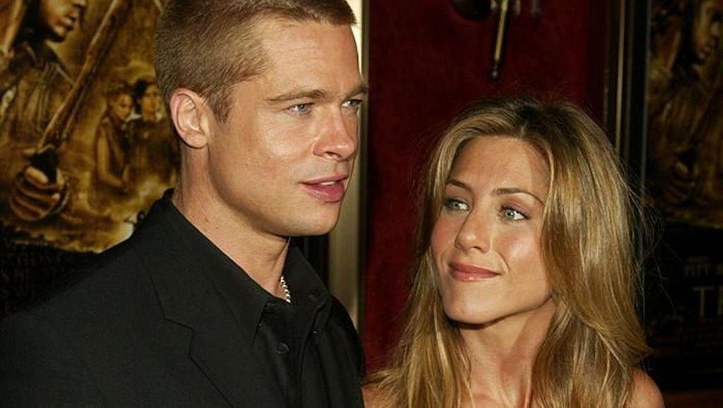 Viral, Bukti Wajah Brad Pitt Selalu Berubah Jadi Wanita yang Dikencaninya