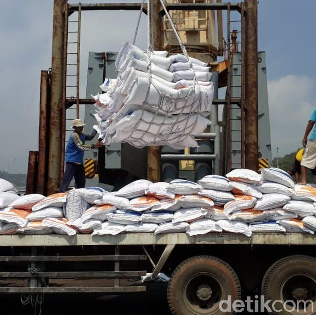Darmin: Impor Lumayan Tapi Ketahanan Pangan Membaik