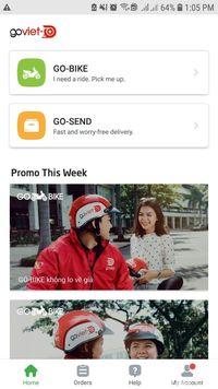 Aplikasi Go-Viet versi Android yang sudah muncul di Play Store.