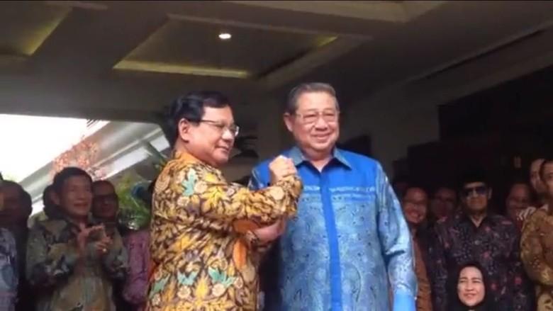 Prabowo: Dukungan SBY Satu Langkah yang Besar