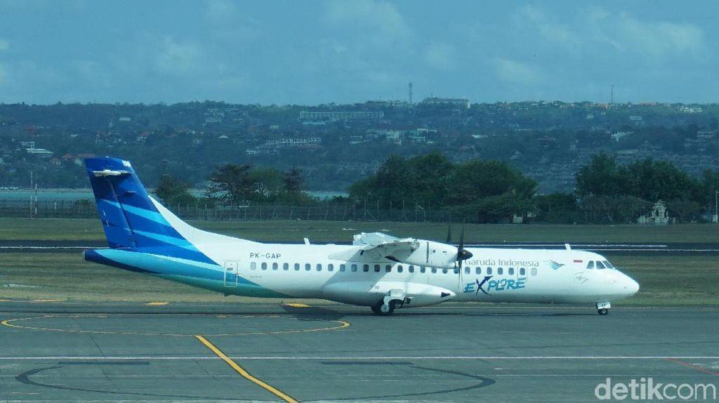 Mendarat Darurat di Halim, 69 Penumpang Garuda Minta Diturunkan