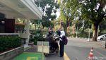Foto: Penampakan Drop Off Ojol yang Diinstruksikan Anies