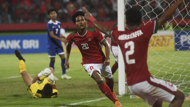 Bagus Kahfa melengkapi kemenangan Indonesia atas Iran dengan skor 2-0.