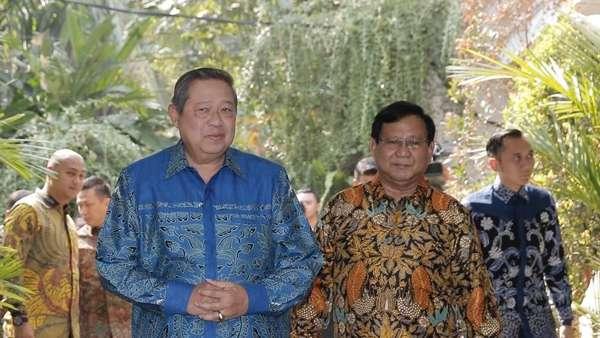 PD Dukung Prabowo-Sandi, Hanura: Kok SBY Pilih Kardus Kosong?