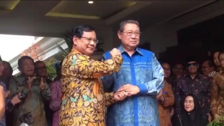 Usai Pertemuan Prabowo-SBY, Gerindra Yakin Koalisi Solid