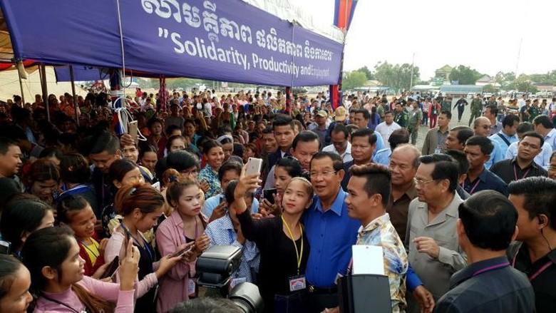 Oposisi Kamboja Minta Australia Tolak Kemenangan Hun Sen