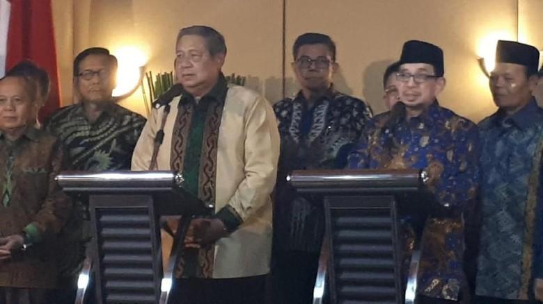 SBY: Saya Yakin Prabowo Bijaksana Pilih Cawapres