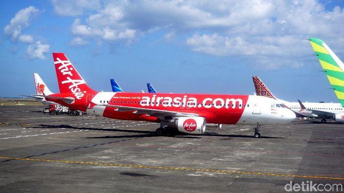 Ilustrasi AirAsia. Foto: Shinta Angriyana/detikTravel
