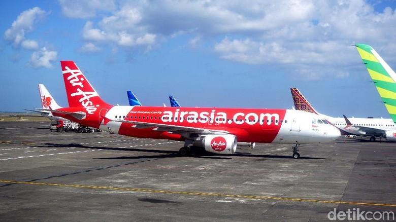 Foto: Ilustrasi pesawat AirAsia (Shinta/detikTravel)