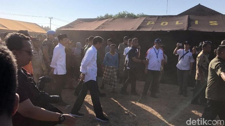 Jokowi Bantu Renovasi Rumah Korban Gempa NTB Rp 50 Juta Per Unit