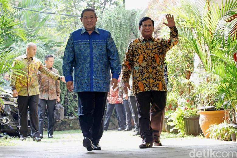 Prabowo dan SBY akan Bertemu Bahas Strategi 55