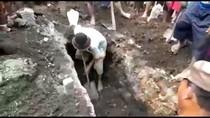Makam di Sidoarjo Dibongkar Orang, Diduga Curi Tali Pocong