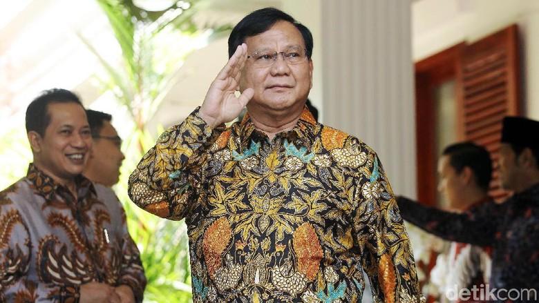 Melesat di Survei Alvara, Prabowo: Yang Penting Kita Kerja