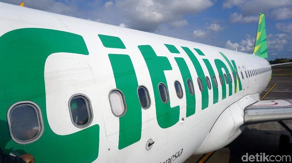 Citilink Buka 3 Rute Penerbangan Baru di Sumatera