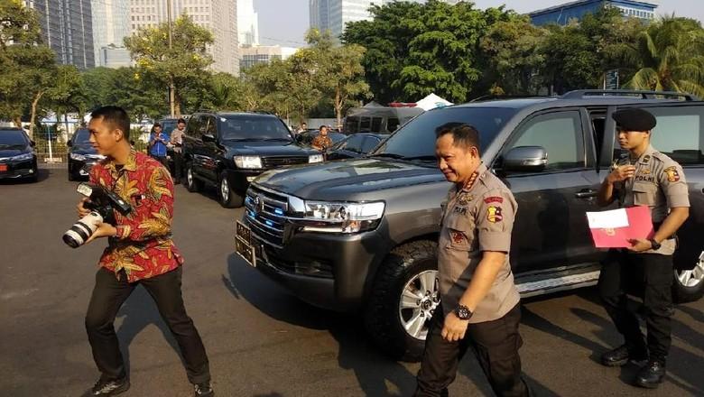 Kapolri Gelar Rapat Pengamanan Asian Games di Jakarta