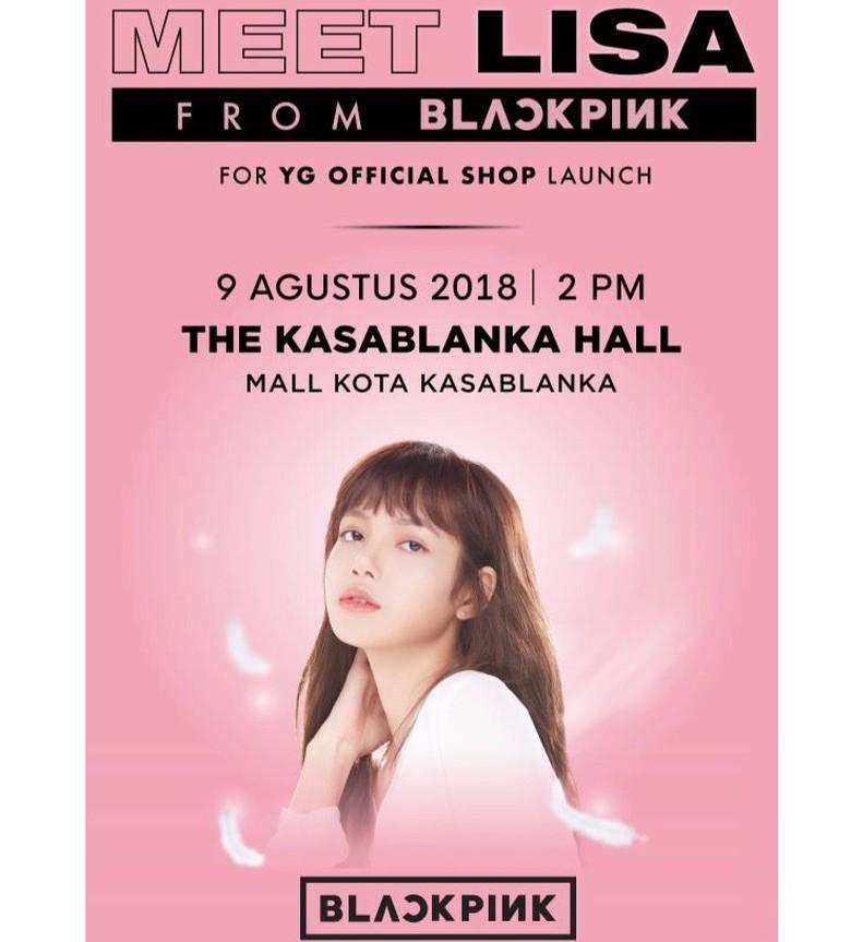 Diborong Fans Lisa BLACKPINK, Merchandise YG di Shopee Ludes