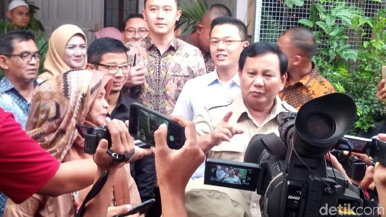 Pertemuan Prabowo-Pimpinan PKS Sudah Didahului Elite Gerindra