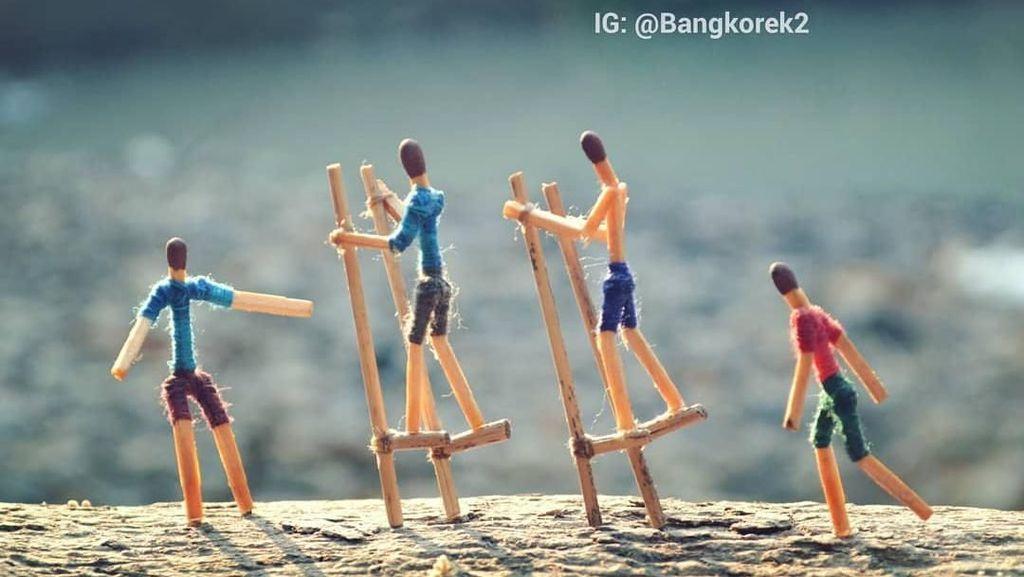 Cerita Nyeleneh Jadi Kekuatan dari Karya Kreatif Bang Korek