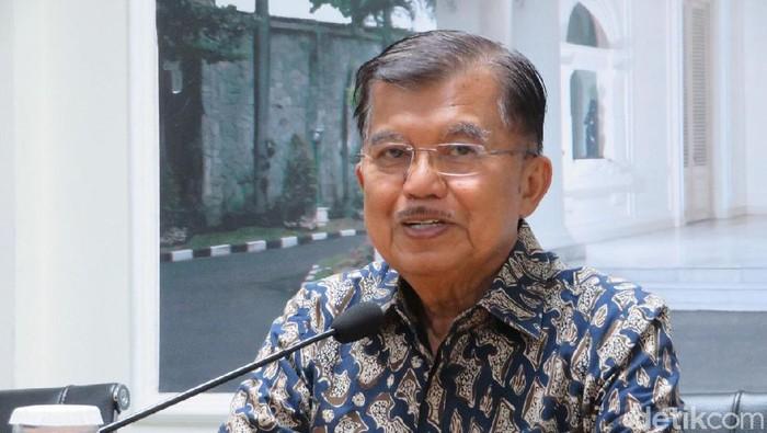 Wapres Jusuf Kalla (Noval/detikcom)