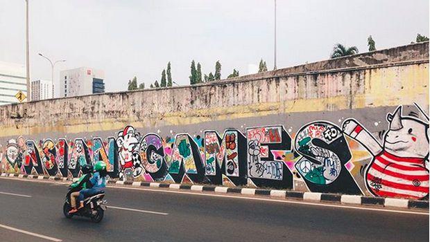 Viral Mural di Cilandak Ditutup Spanduk, Lurah: Sudah Dicopot