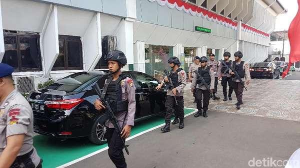 Polisi Kerahkan 200 Personel Amankan Vonis Pembubaran JAD
