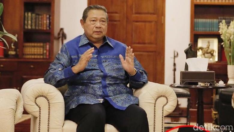 Jelang Rapat Majelis Tinggi, Mobil SBY Keluar Kawasan Mega Kuningan