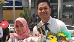 Ramai di sosial media, penyanyi Fatin Shidqia punya sosok idaman bernama Septrian Nugraha Gunawan. Kelihatan anteng, kekasih Fatin ini anak futsal lho!