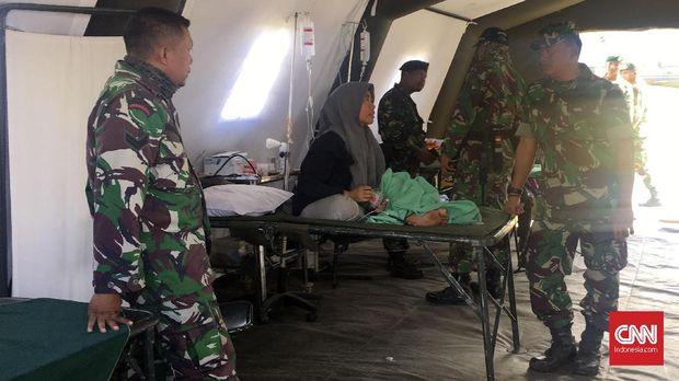 Warga Sembalun Korban Gempa Masih Menginap di Posko Malam Ini