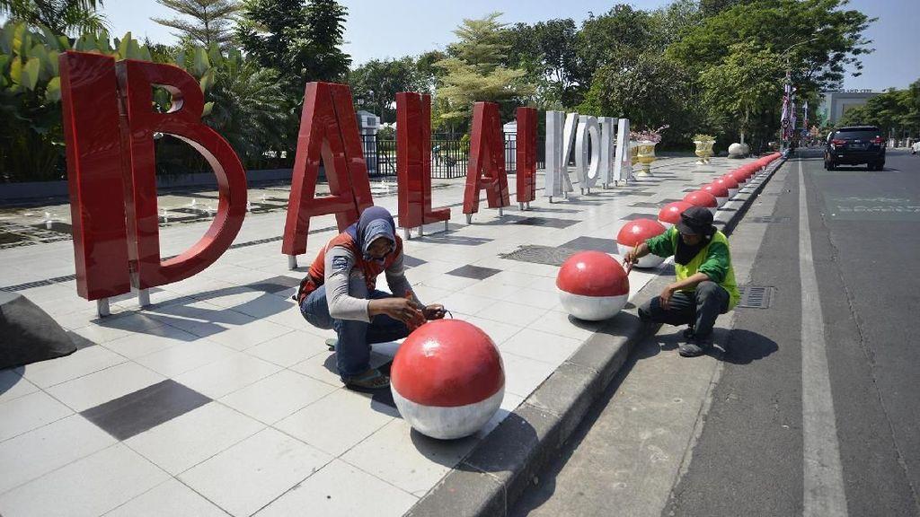 Surabaya Mulai Bersolek Jelang Agustusan