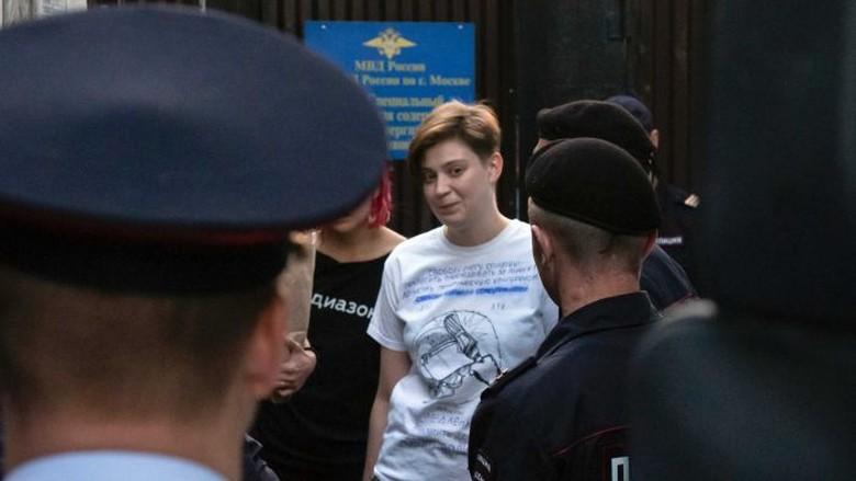 Anggota Pussy Riot Ditangkap Lagi Setelah Dibebaskan dari Penjara