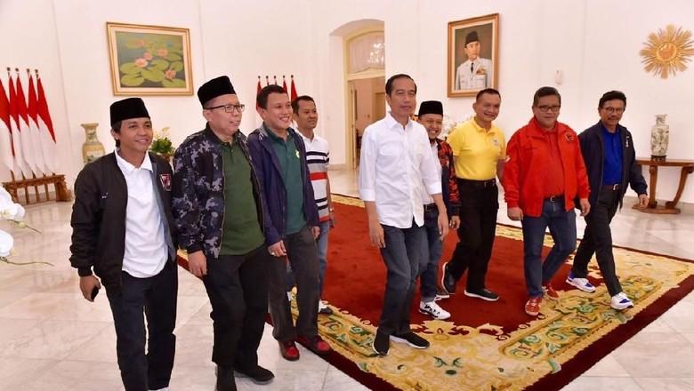 Bertemu 9 Sekjen Parpol, Jokowi Bicara Satu Nama Cawapres
