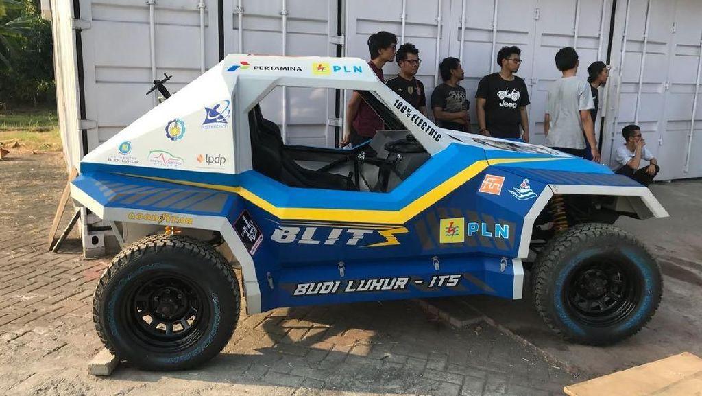 Sebelum Ikut Rally Dakar, Mobil Listrik ITS Disiksa 15.000 Km