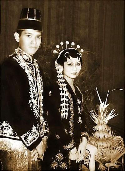 Foto pernikahan SBY dan Bu Ani. Foto: Dok. Facebook Ani Yudhoyono