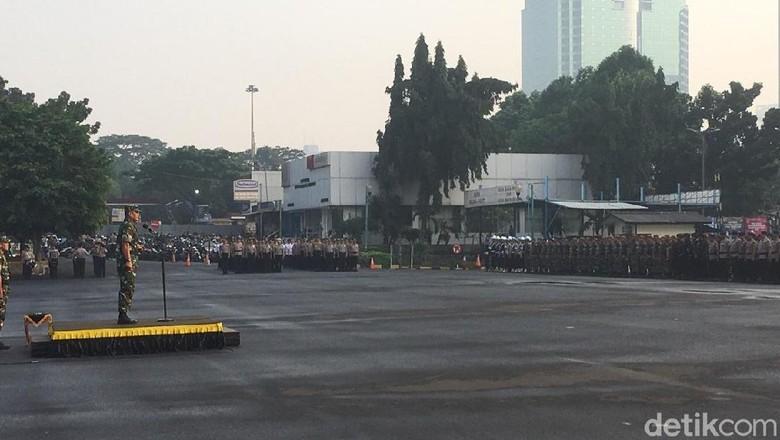 TNI-Polri Gelar Apel Pasukan Pengamanan Asian Games