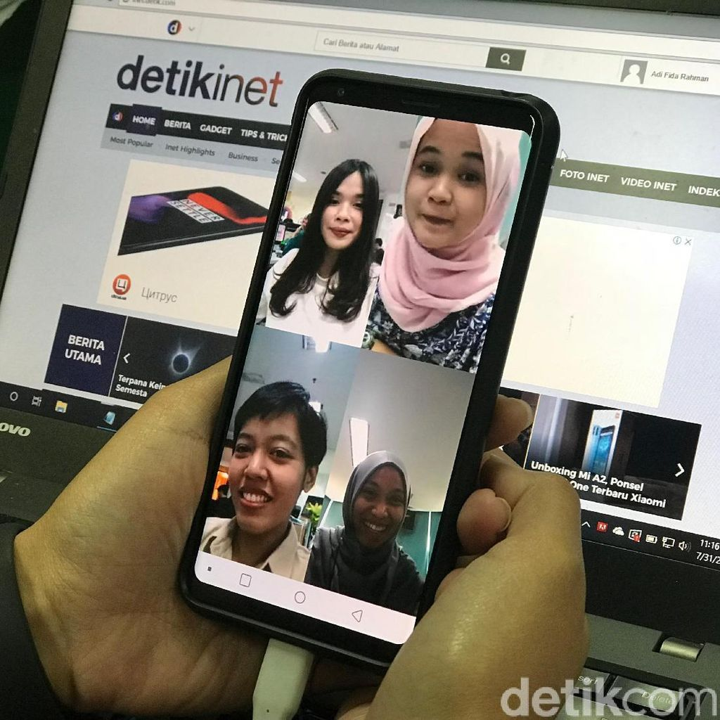 3 Cara Video Call Group di WhatsApp