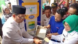 6 ATM Beras Warga Miskin Tersebar di Kota Bandung