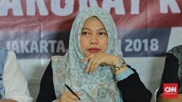 Direktur Eksekutif Perludem Titi Anggraini, 31 Juli.