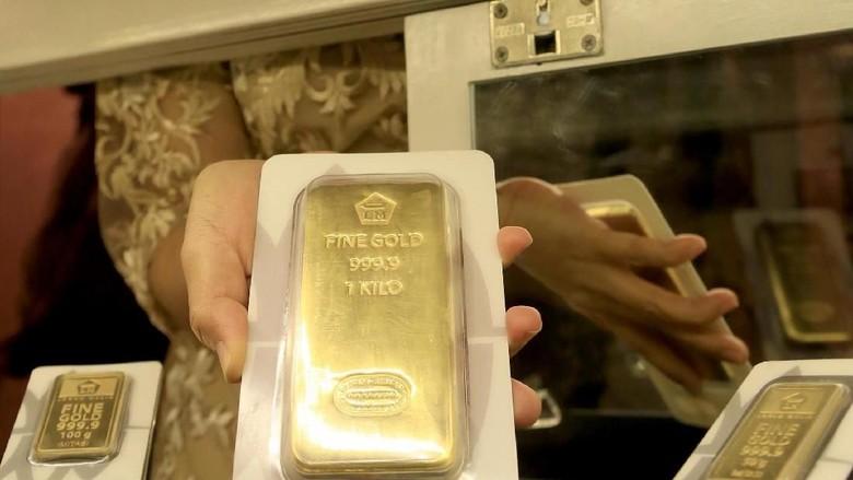Ilustrasi investasi emas/ Foto: dok. Antam