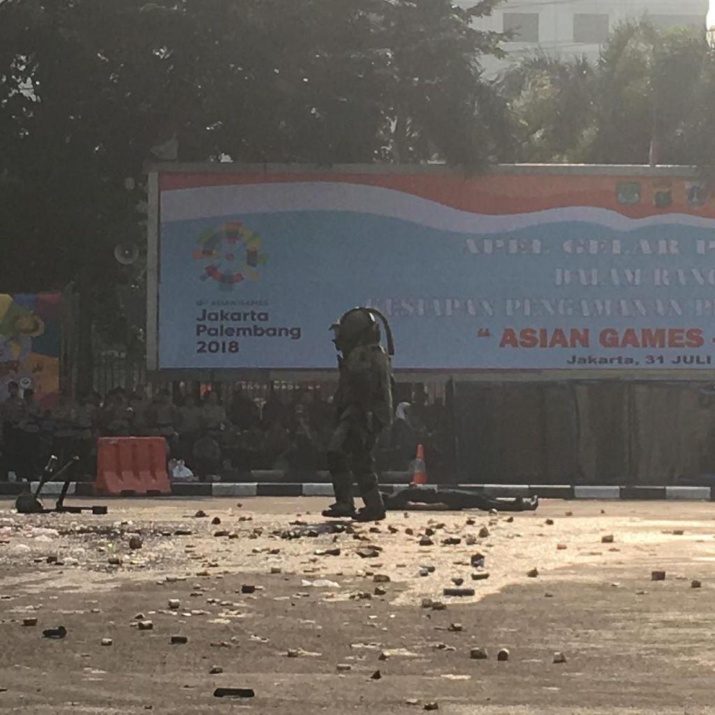 6.281 Personel Amankan GBK hingga JPO di Pembukaan Asian Games