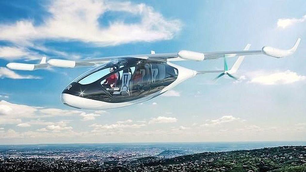 Taksi Terbang Mewah Siap Diuji Coba Tahun Depan