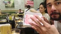 Lahap Daging Shabu-shabu 20 Piring, Raffi Ahmad Tantang Netizen untuk Kalahkan Dirinya