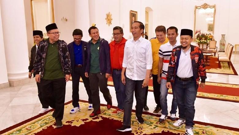 9 Sekjen Koalisi Jokowi akan Nonton Pembukaan Asian Games