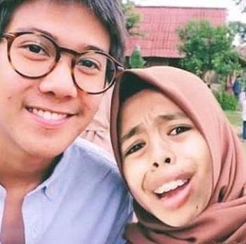 Foto editan Nurrani dan Iqbaal Ramadhan.