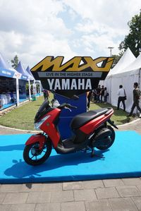 Yamaha Lexi di event MAXI Yamaha Day area Candi Borobudur/ Foto: Yamaha