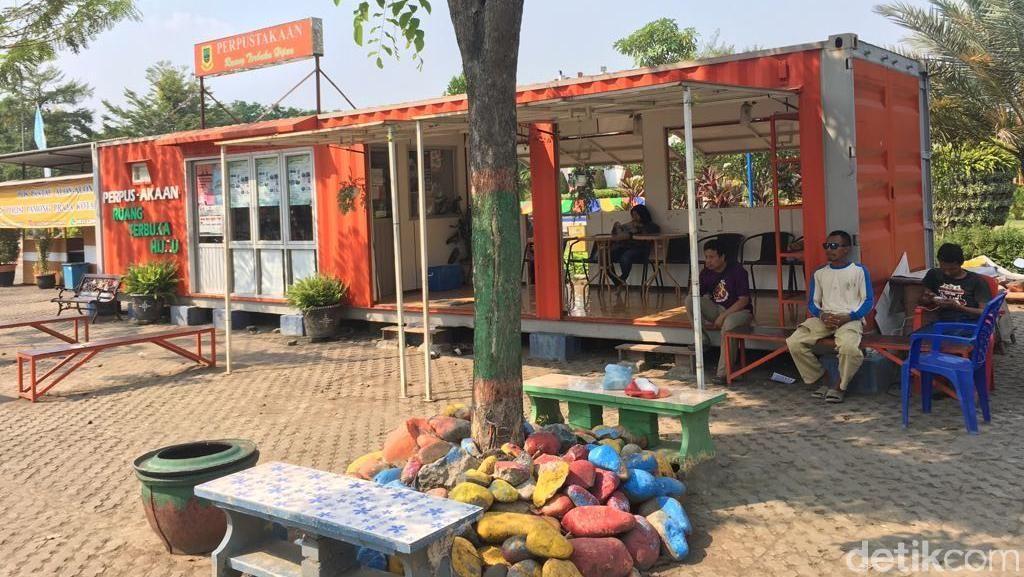 Perpustakaan RTH di Kota Mojokerto Kok Sepi, Kenapa Ya?