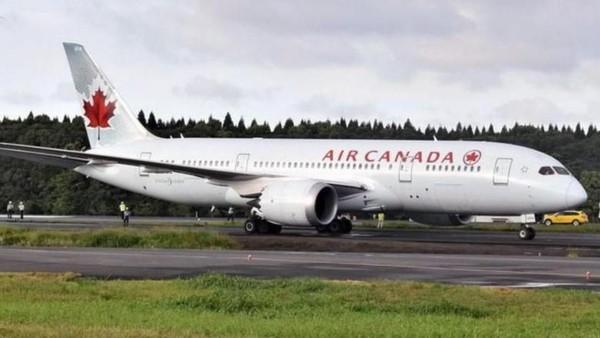 Terhitung sejak 15 Mei ini, maskapai Air Canada akan menerapkan pengukuran suhu dengan infrared tanpa kontak langsung untuk semua penumpang. Apabila ada penumpang yang terdeteksi demam, maka penumpang itu tidak diizinkan terbang (OMIURI SHIMBUN/ASIA NEWS NETWORK)