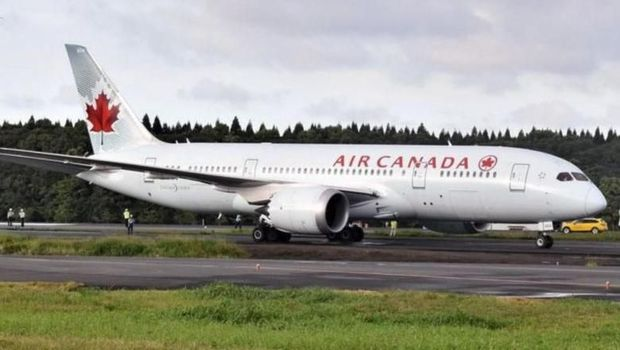 Air Canada (YOMIURI SHIMBUN/ASIA NEWS NETWORK)