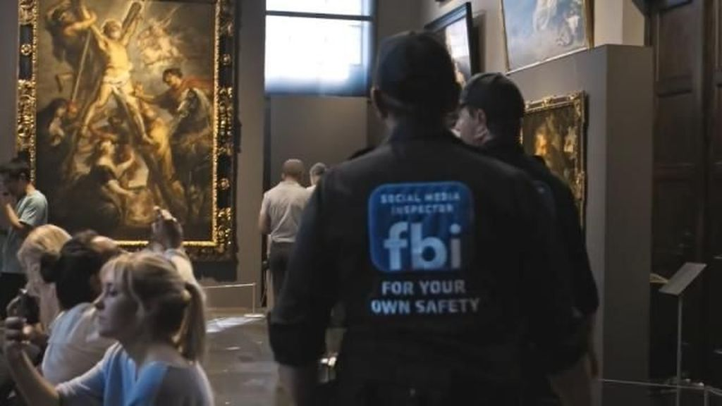 Turis Museum Seni di Belgia Dijauhkan dari Lukisan Telanjang