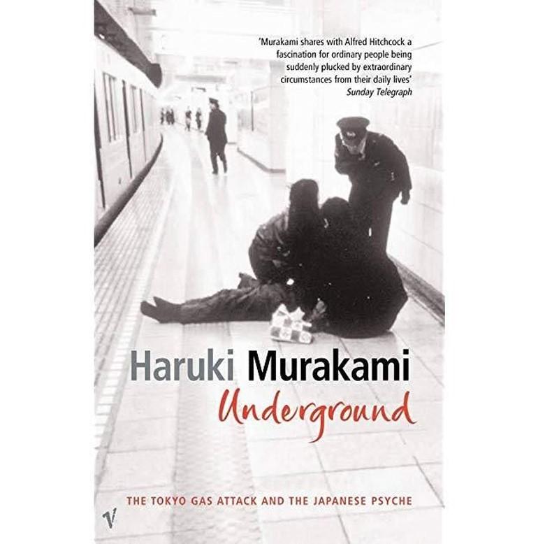Buku Haruki Murakami Underground Picu Kontroversi Lagi Foto: Istimewa